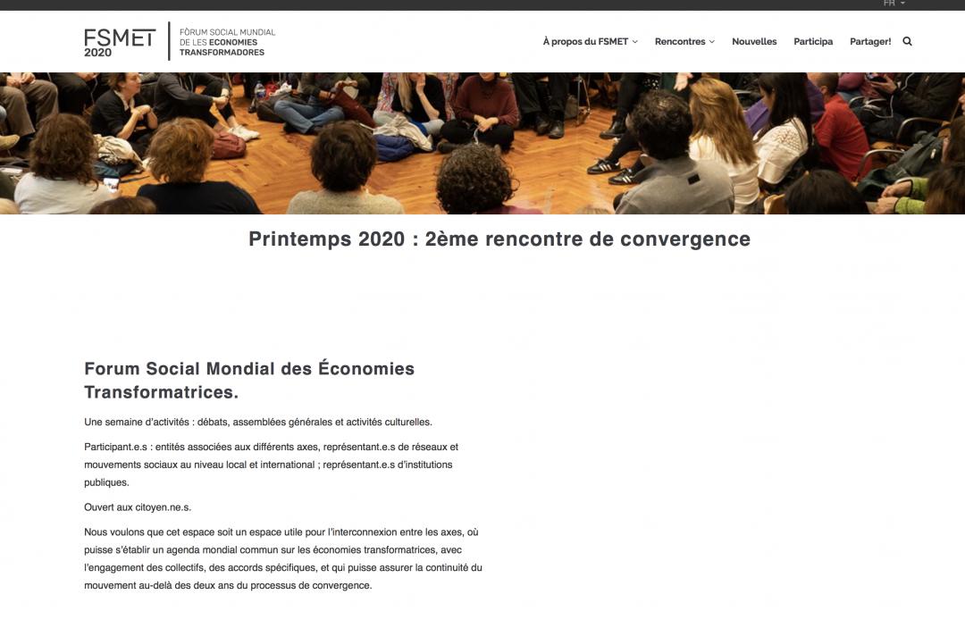 Hemos coordinado todas las traducciones del Foro Social Mundial de las Economías Transformadoras al francés, el inglés y el portugués