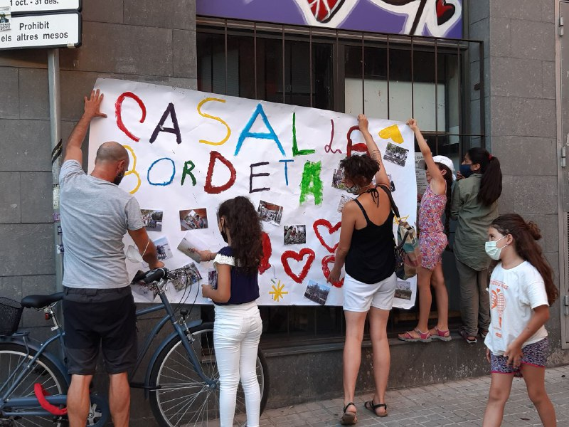 Casals populars, conscients i rebels al barri de La Bordeta