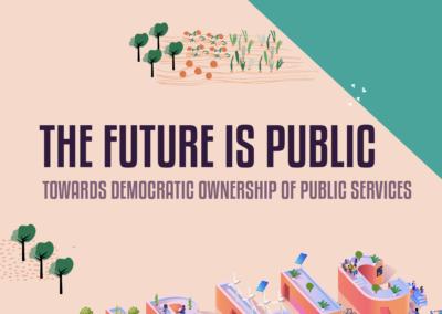 """[EN-CA] Traducció del resum del llibre """"The future is public"""""""