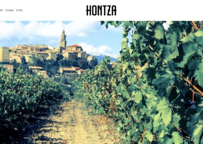 Hem traduït i corregit la pàgina web de Viñedos Hontza