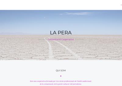[CA] Hem corregit i revisat la pàgina web de la cooperativa La Pera